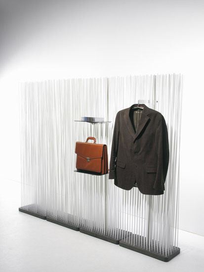Sticks display by extremis | Space dividers