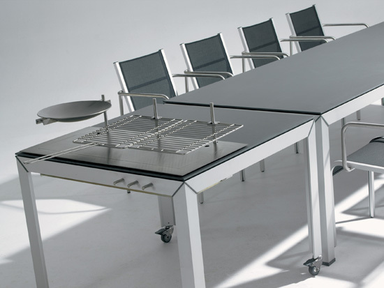 Extempore Still barbecue table by extremis | Barbecues