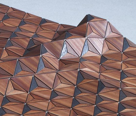 Wooden Carpet Sherwood von böwer | Formatteppiche / Designerteppiche