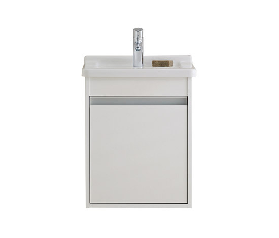 Ketho - Vanity units with integrated console by DURAVIT | Vanity units