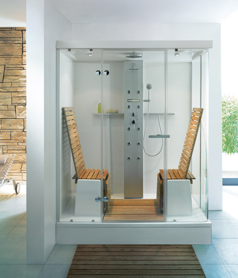 Multifunctional Shower by DURAVIT | Shower cabins / stalls