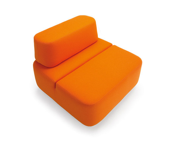 Movie armchair by Martela Oyj | Modular seating elements