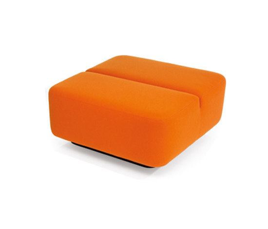Movie pouf square by Martela | Modular seating elements