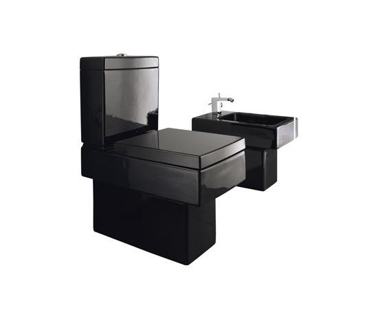 Vero stand wc bidet bidets von duravit architonic for Inodoro cuadrado