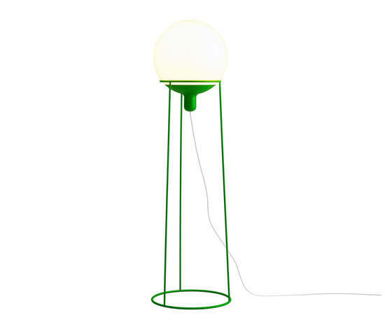 Dolly 36 floor lamp green by Bsweden | General lighting