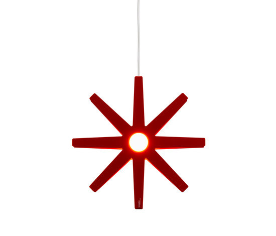 Fling 33 pendant small red de Bsweden | Iluminación general