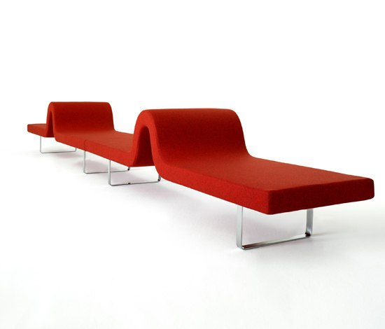 Longway A by Segis | Waiting area benches