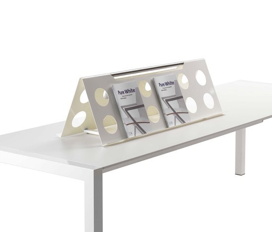 Table Display Storage Systems by Lourens Fisher | Magazine holders / racks