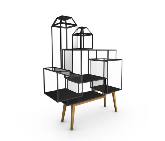 Steel Cabinet 7 by JSPR | Display cabinets