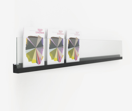 Front Ledge FR1 200 by Karl Andersson | Brochure / Magazine display stands