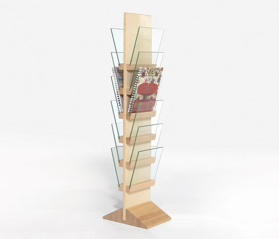 Front Freestanding FRDT 2566 by Karl Andersson | Brochure / Magazine display stands