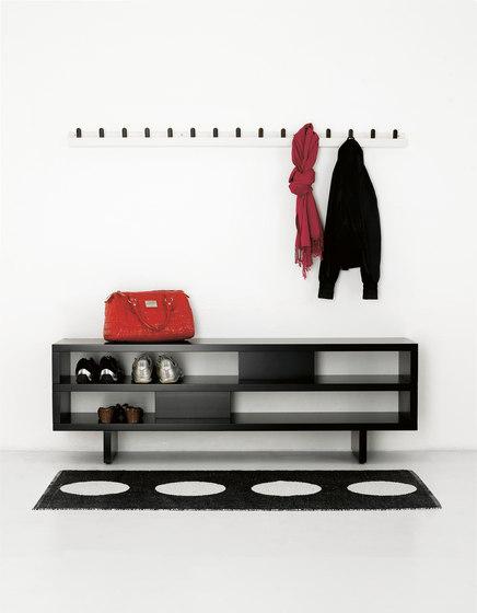 Front coat racks FR4 150 by Karl Andersson & Söner | Hook rails