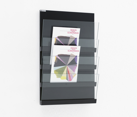 Front Panel FRT 5044 by Karl Andersson | Brochure / Magazine display stands