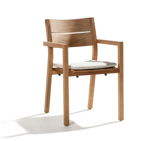 Kos Teak Armchair by Tribù | Garden chairs