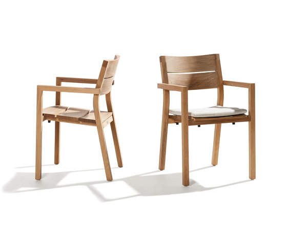 Kos Teak Armchair by Tribu | Garden chairs