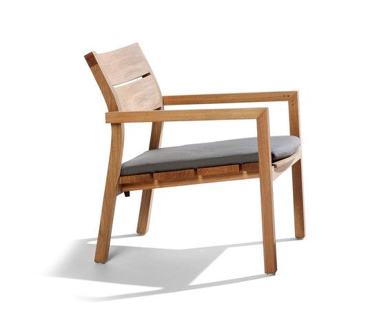 Kos Teak Easy chair by Tribù | Garden armchairs