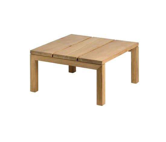 Kos Teak Footrest by Tribù | Garden stools