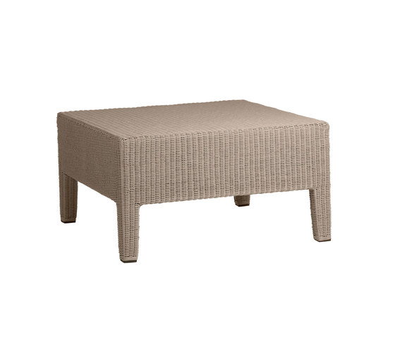 Terra Casual footstool by Tribù | Garden stools