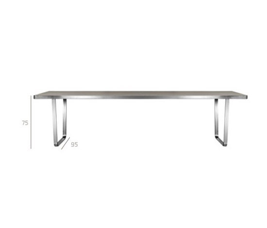 Essentiel Table by Tribù | Dining tables