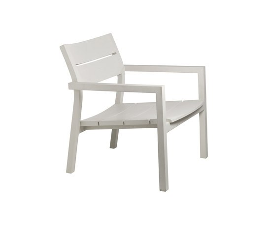 Kos Laquered Easy chair by Tribu | Garden armchairs