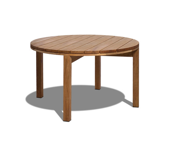 Kos Teak Round table by Tribù | Dining tables