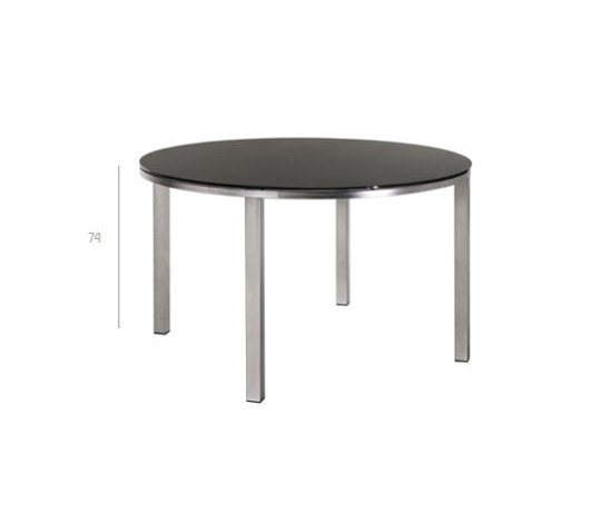 Mystral Round table by Tribù | Dining tables