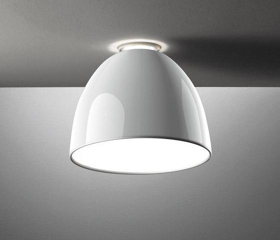 Nur Mini Gloss Ceiling Lamp by Artemide | General lighting