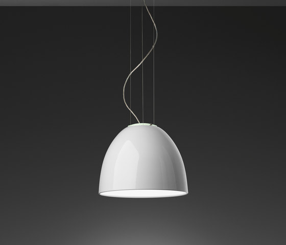Nur Gloss Mini Suspension Lamp by Artemide | General lighting