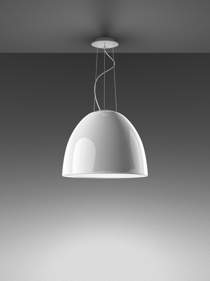 Nur Gloss Suspension Lamp by Artemide | General lighting