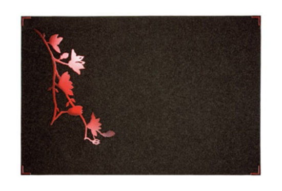 Red Flower by Ruckstuhl | Rugs / Designer rugs