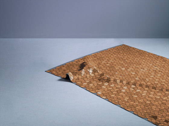 Wooden Carpet Mortimer de böwer | Tapis / Tapis design