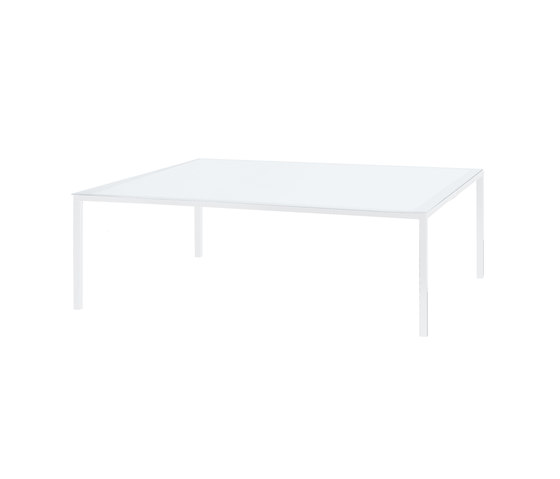 Alusion ALU 150 table by Royal Botania | Dining tables