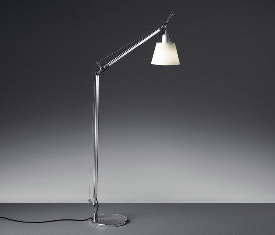 Tolomeo basculante lettura Floor Lamp by Artemide | General lighting