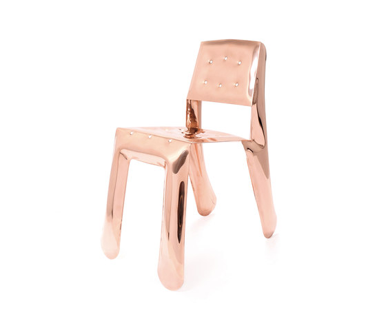 Chippensteel 0.5 | Copper by Zieta | Visitors chairs / Side chairs