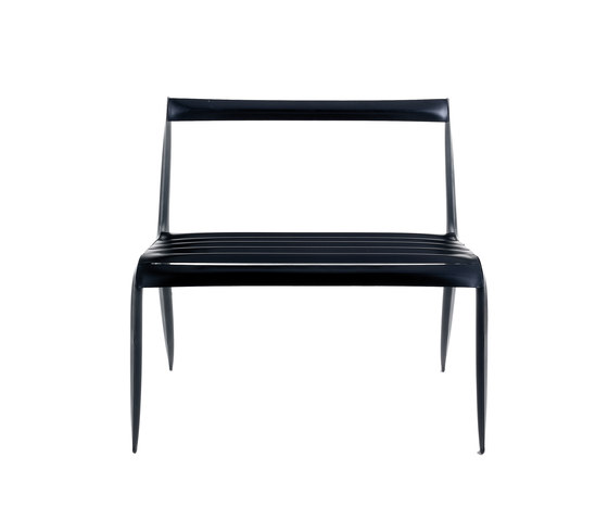 Unterdruck Slim | black by Zieta | Garden benches