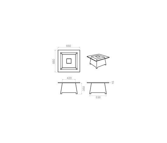Raffy-M10 Lumineux by Qui est Paul?   Coffee tables