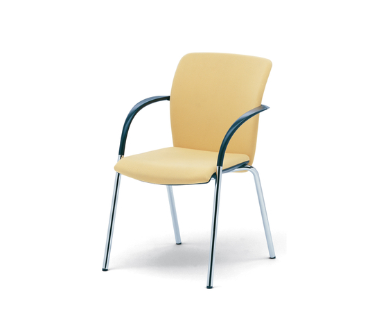 OKAY Visitors chair by König+Neurath | Visitors chairs / Side chairs