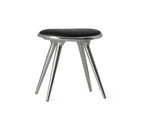Low Stool recycled aluminum 47 von Mater | Hocker