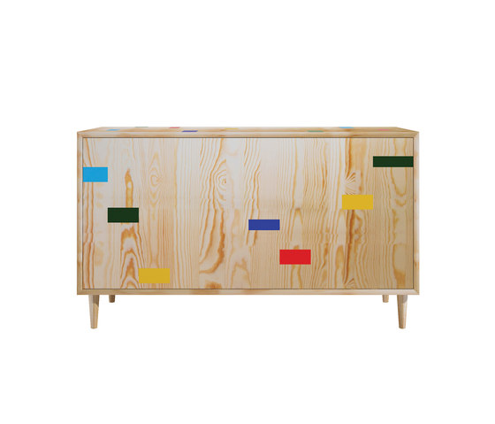 Gymnasium pine wood full court by Mater | Sideboards