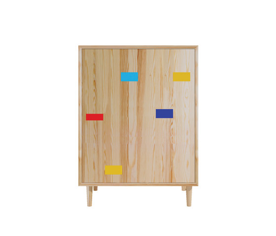 Gymnasium pine wood baseline by Mater | Sideboards