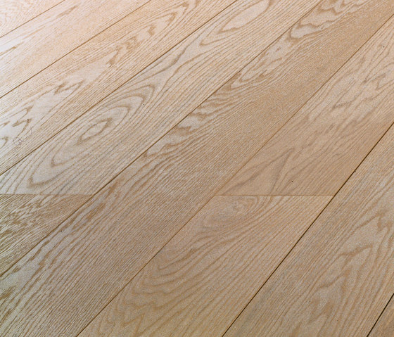 OAK Clear brushed | extra white oil by mafi | Wood flooring