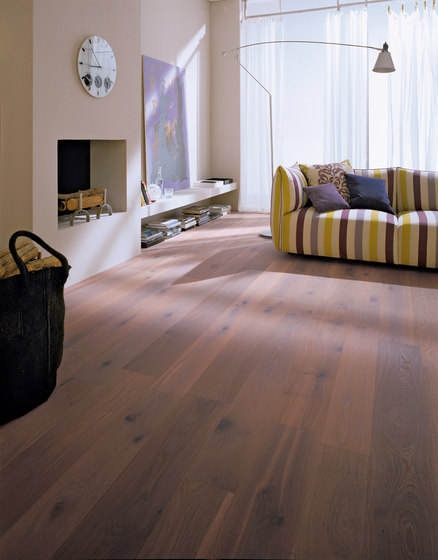 OAK Country Vulcano brushed | white oil by mafi | Wood flooring