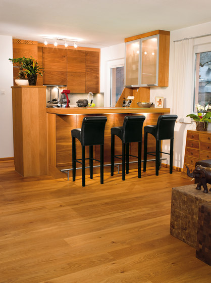 OAK Character brushed | natural oil by mafi | Wood flooring