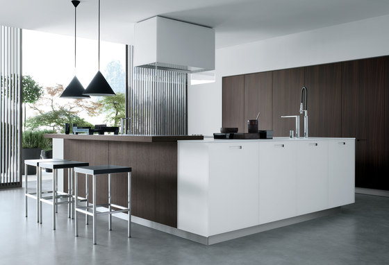 Kyton by Varenna Poliform | Fitted kitchens