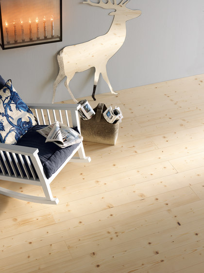 SPRUCE brushed | white oil by mafi | Wood flooring