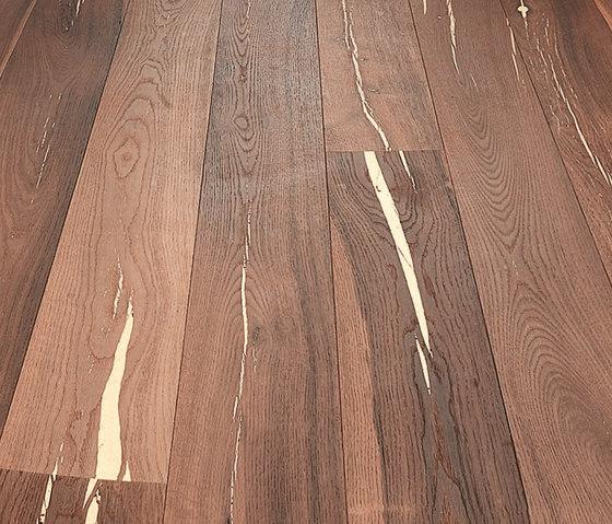 Tiger OAK white brushed | white oil by mafi | Wood flooring