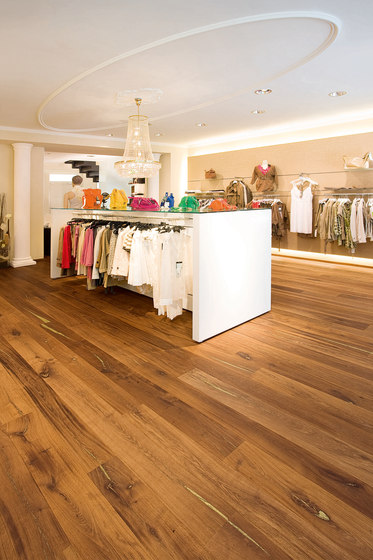 Tiger OAK gold brushed | natural oil de mafi | Sols en bois