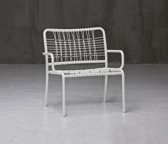InOut 826 by Gervasoni | Garden armchairs