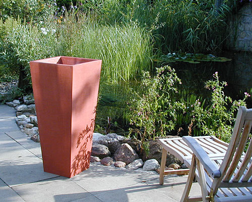pflanzgef sse bepflanzung calanthe stehtisch oggi beton. Black Bedroom Furniture Sets. Home Design Ideas