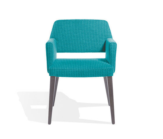 Vanessa Armchair P by Accademia | Visitors chairs / Side chairs